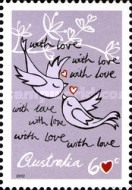[Greetings Stamps - Precious Moments, type DPH]