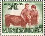 [The 25th Anniversary of the Young Farmers Clubs, type DQ]