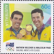 [London 2012 Olympic Games - Australian Gold Medallists, type DSF]