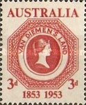 [The 100th Anniversary of the Tasmanian Stamps, type DU]