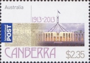 [The 100th Anniversary of the City of Canberra, type DUV]
