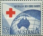[The 40th Anniversary of the Australia Red Cross Society, type DZ]