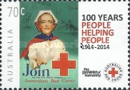 [The 100th Anniversary of the Australian Red Cross, type DZG]