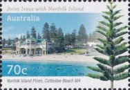 [Norfolk Island Pines - Joint Issue with Norfolk Island, type DZZ]