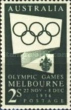 [Olympic Games - Melbourne 1956, Australia, type ED1]