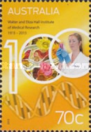 [The 100th Anniversary of the Walter and Eliza Hall Institute of Medical Research, type EDN]