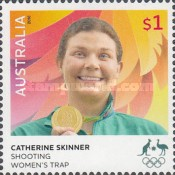 [Australian Gold Medallists at the Rio 2016 Olympic Games, type EHQ]