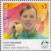 [Australian Gold Medallists at the Rio 2016 Olympic Games, type EHS]