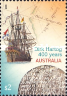 [The 400th Anniversary of the Landing of Dirk Hartog, 1580-1621, type EIF]