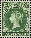 [The 100th Anniversary of the First Stamp in South Australia, type EK]