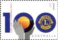 [The 100th Anniversary of Lions Clubs International, type EKC]