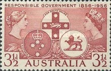 [The 100th Anniversary of Responsible Government in New South Wales, Victoria and Tasmania, type EM]