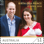 [Royal Baby - HRH Prince Louis of Cambridge, type ENY]