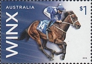 [Horses - The  26th Consecutive Race Win by Australian Mare Winx, type EOI]