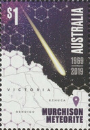 [The 50th Anniversary of the Murchison Meteorite Falling into Earth, type ERQ]