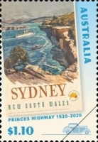 [The 100th Anniversary of the Princes Highway, type EVK]