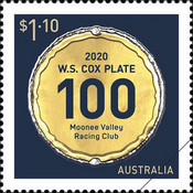 [The 100th Running of the W.S. Cox Plate, type EWI]