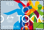 [Summer Olympic Games 2020 - Tokyo, Japan 2021 - Ticket to Tokyo, type EYF]