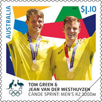 [Medalists - Summer Olympic Game 2020 - Tokyo, Japan 2021, type EZH]