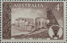 [The 75th Anniversary of the Broken Hill Mine Concession, type FD]