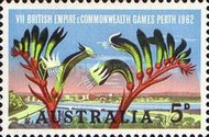 [The 7th Anniversary of the Commonwealth Games - Perth, 1962, type GL]