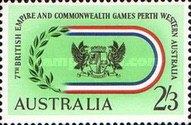 [The 7th Anniversary of the Commonwealth Games - Perth, 1962, type GM]