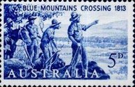 [The 150th Anniversary of the First Blue Mountains Crossing, 1813-1963, type GR]