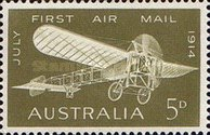 [The 50th Anniversary of the First Airmail, type HJ]