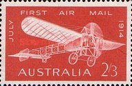 [The 50th Anniversary of the First Airmail, type HJ1]