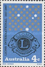 [The 50th Anniversary of the Lions International, type IP]