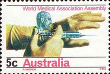 [World Medical Association Assembly - Sydney, type JC]
