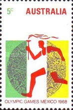[Olympic Games - Mexico City, type JE]