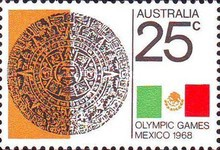 [Olympic Games - Mexico City, type JF]