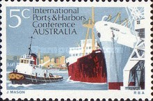 [International Ports and Harbors Conference Australia, type JP]