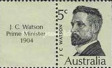 [Commonwealth Prime Ministers from Australia, type JY]