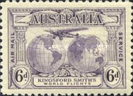 [Airmail - Charles Kingsford Smith's World Flights, Inscription