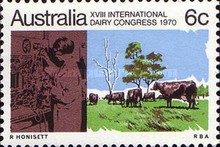[The 18th Anniversary of the International Dairy Congress, type KX]