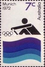 [Olympic Games -  Munich, Germany, type MJ]