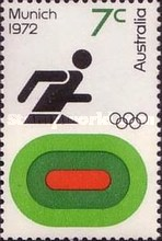 [Olympic Games -  Munich, Germany, type MK]