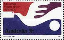 [The 100th Anniversary of the Universal Postal Union, type OL]