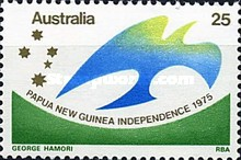[Papua New Guinea Independence, type PU]