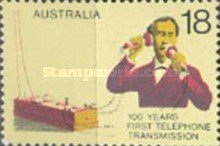 [The 100th Anniversary of the First Telephone Transmission, type PY]