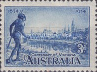 [The 100th Anniversary of the Colonization of Victoria, type Q2]