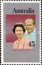 [The 25th Anniversary of the Reign of Queen Elizabeth II, type RC]