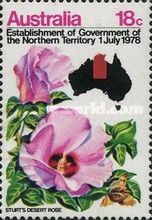 [Establishment of the Government of the Northern Territory 1 July 1978, type RY]