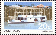 [Boats on Murray River, type SN]