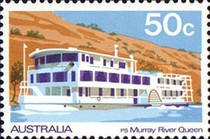 [Boats on Murray River, type SP]
