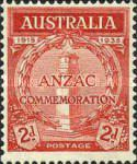 [The 20th Anniversary of the Gallipoli Landing by ANZAC, type T]