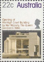 [Opening of the High Court Building by her Majesty, The Queen Canberra, type UF]