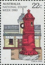 [National Stamp Week, type UP]